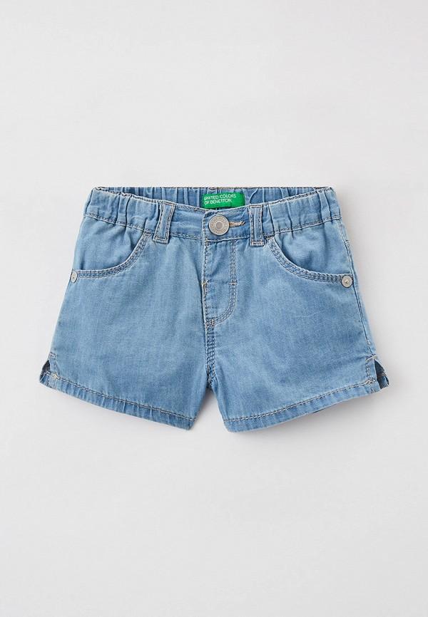 Шорты для девочки джинсовые United Colors of Benetton 4DHJ59GP0