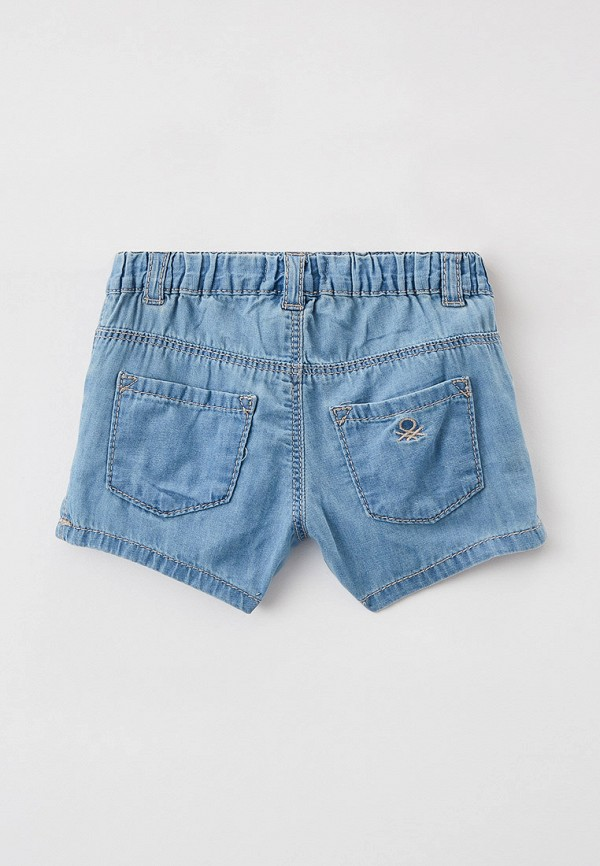 Шорты для девочки джинсовые United Colors of Benetton 4DHJ59GP0 Фото 2