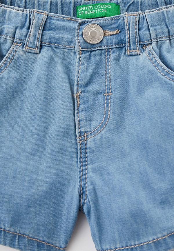 Шорты для девочки джинсовые United Colors of Benetton 4DHJ59GP0 Фото 3