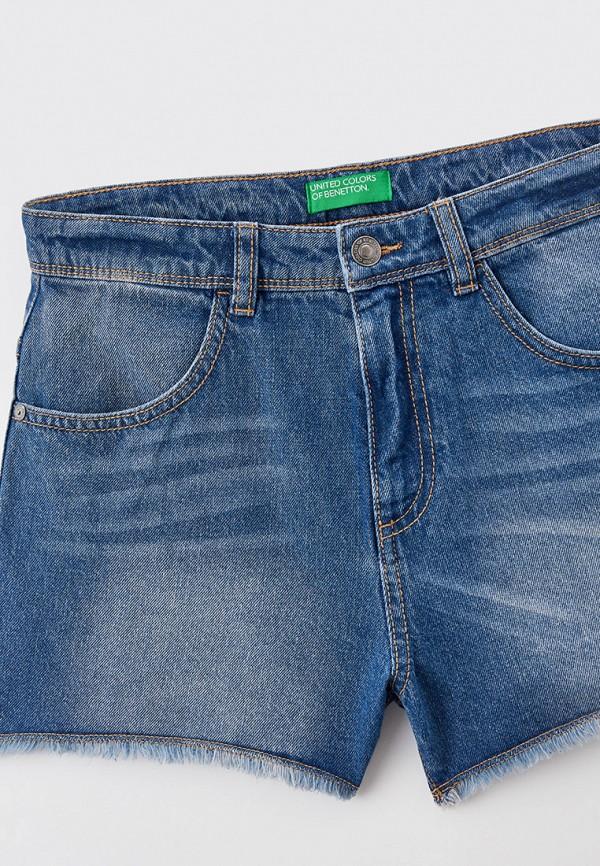 Шорты для девочки джинсовые United Colors of Benetton 4DW259GT0 Фото 3