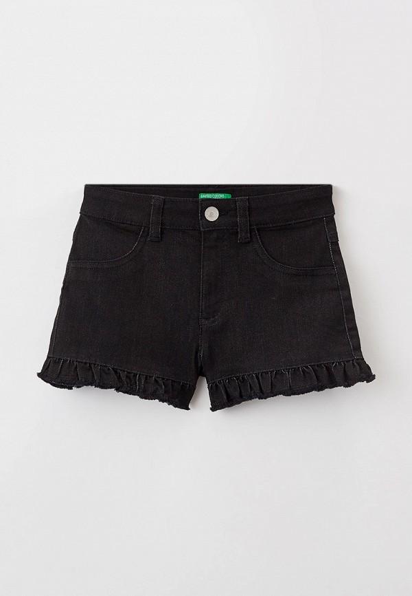 шорты united colors of benetton для девочки, черные