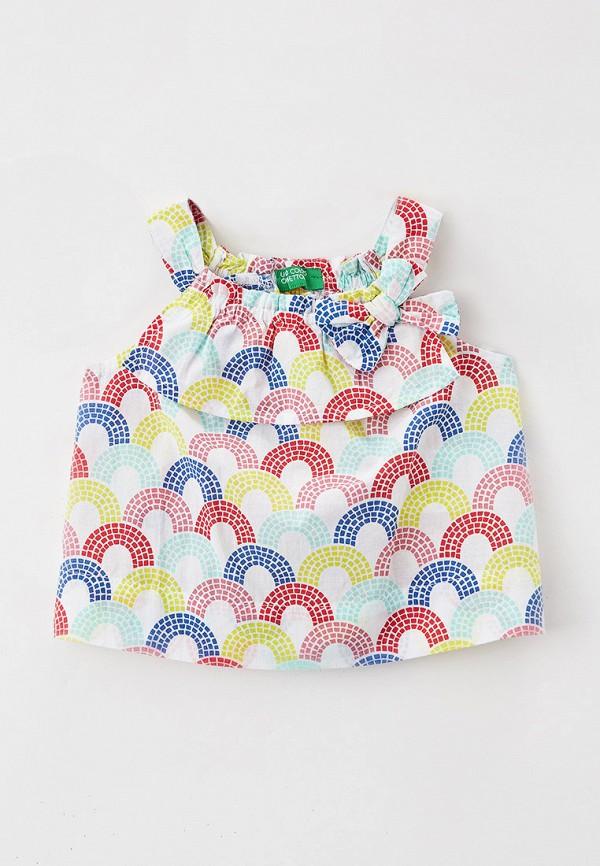 топ united colors of benetton для девочки, разноцветный