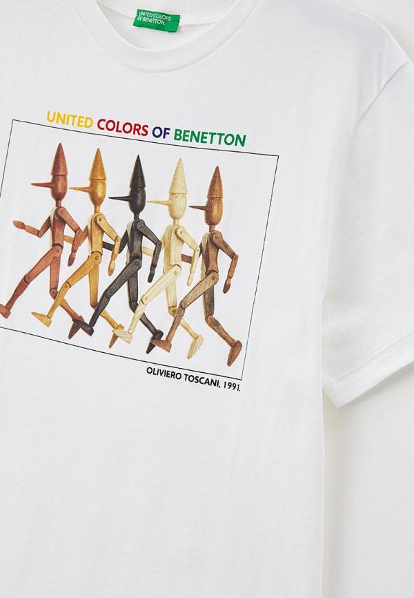 Футболка для мальчика United Colors of Benetton 3I1XC14RT Фото 3