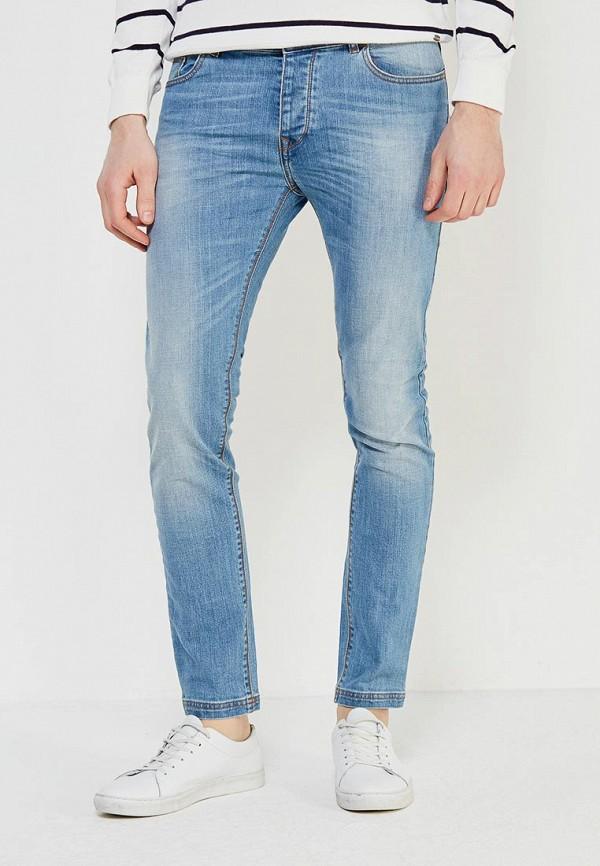Купить мужские джинсы United Colors of Benetton голубого цвета