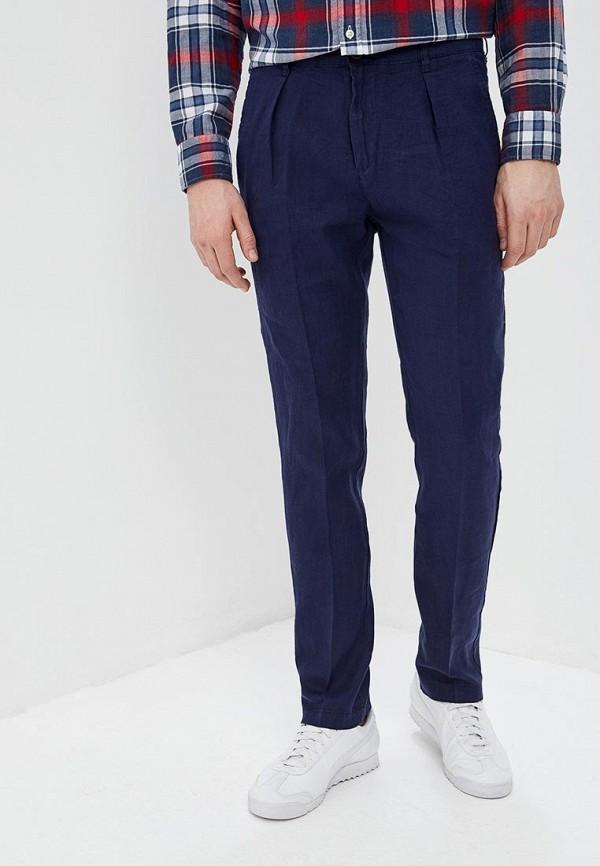 мужские повседневные брюки united colors of benetton, синие