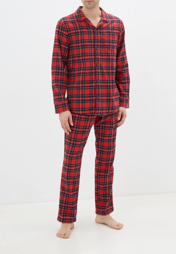мужская пижама united colors of benetton, красная
