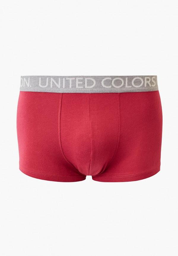мужские трусы-боксеры united colors of benetton, розовые