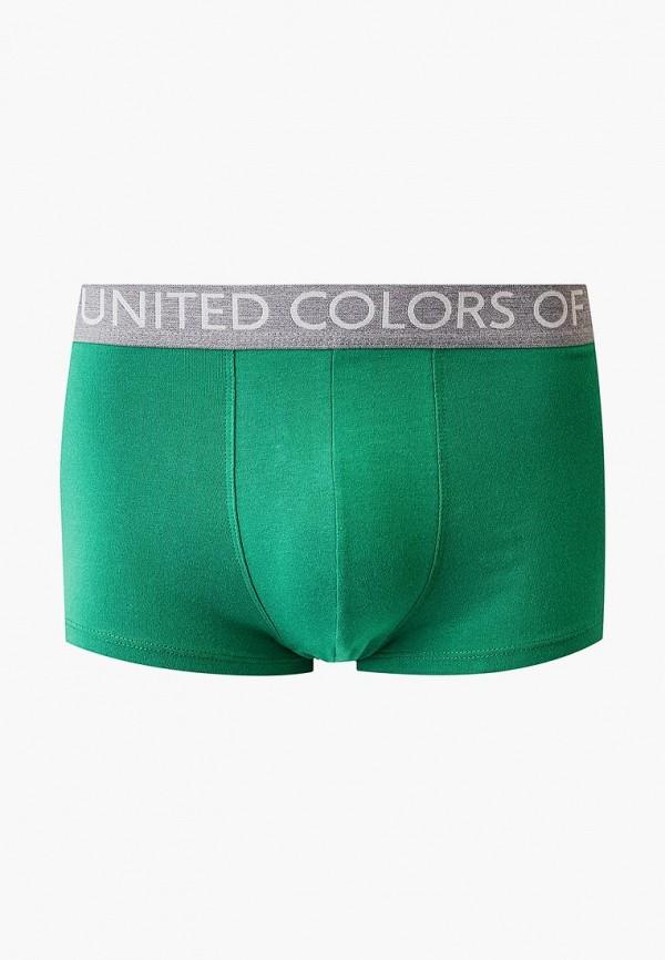 мужские трусы-боксеры united colors of benetton, зеленые