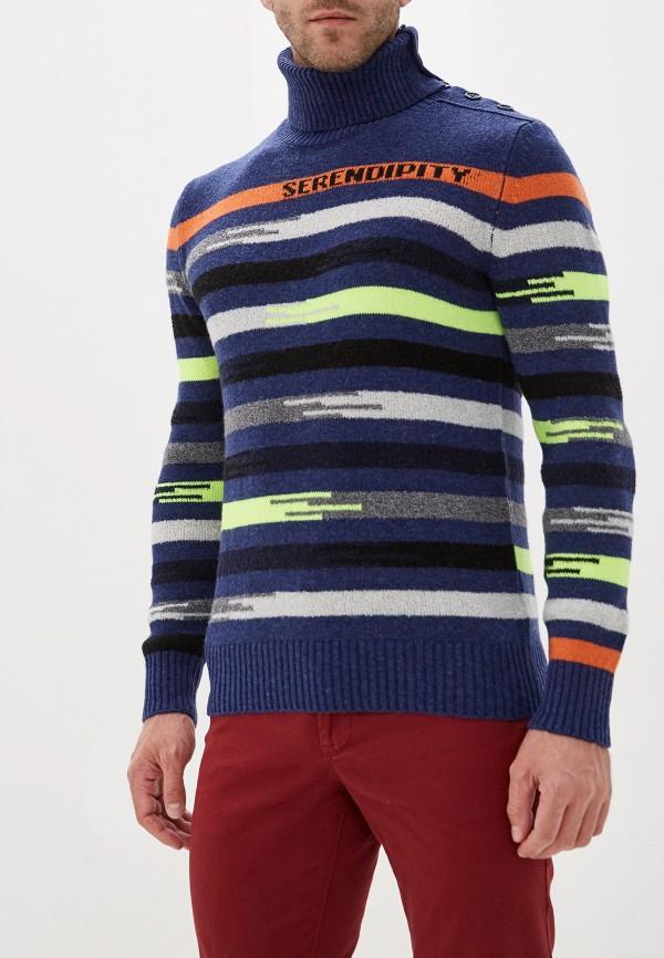 мужской свитер united colors of benetton, синий
