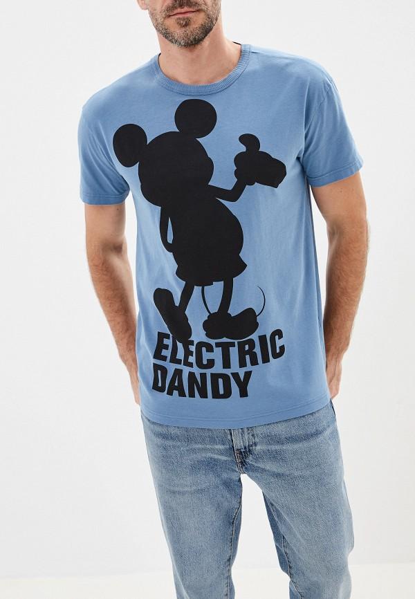 мужская футболка united colors of benetton, синяя