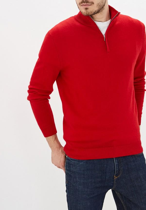 мужская водолазка united colors of benetton, красная