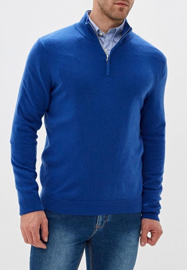 мужская водолазка united colors of benetton, синяя