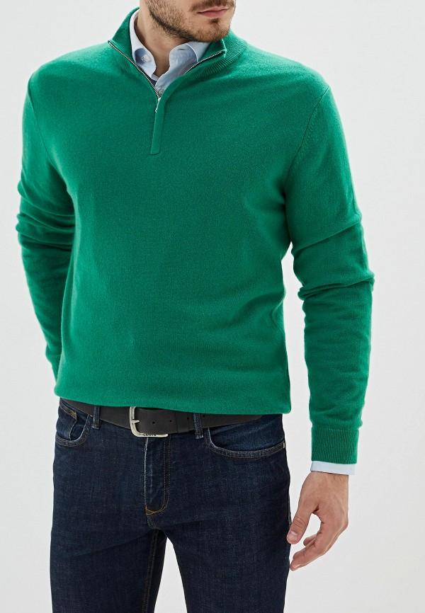 мужская водолазка united colors of benetton, зеленая