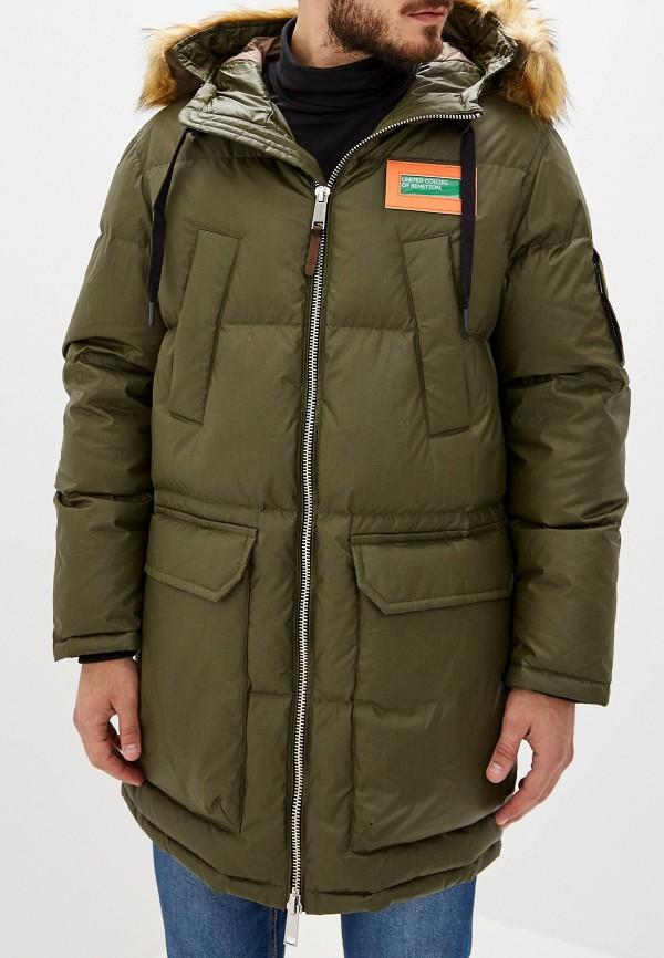 купить Куртка утепленная United Colors of Benetton United Colors of Benetton UN012EMFUVW9 дешево