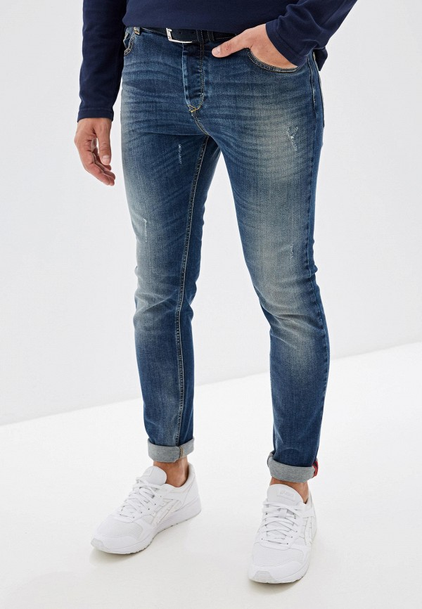 Фото - Мужские джинсы United Colors of Benetton синего цвета