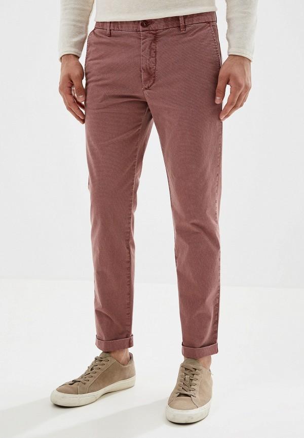 мужские повседневные брюки united colors of benetton, розовые