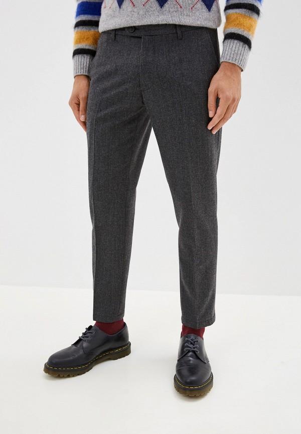 мужские классические брюки united colors of benetton, серые