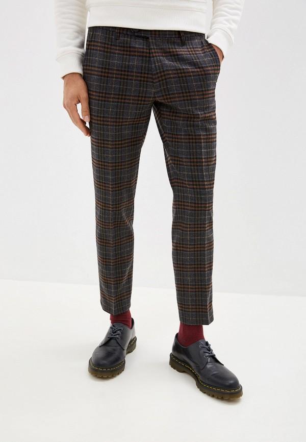мужские повседневные брюки united colors of benetton, бордовые