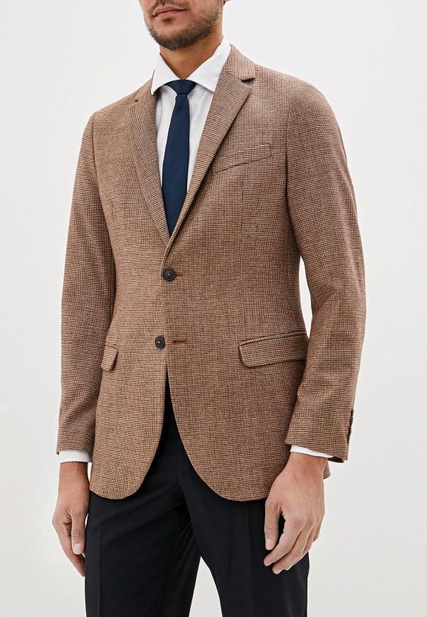 мужской пиджак united colors of benetton, коричневый