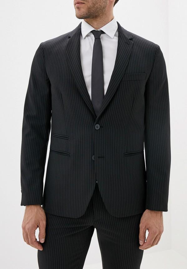 мужской пиджак united colors of benetton, черный