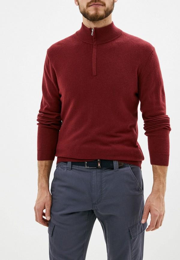 мужской джемпер united colors of benetton, бордовый