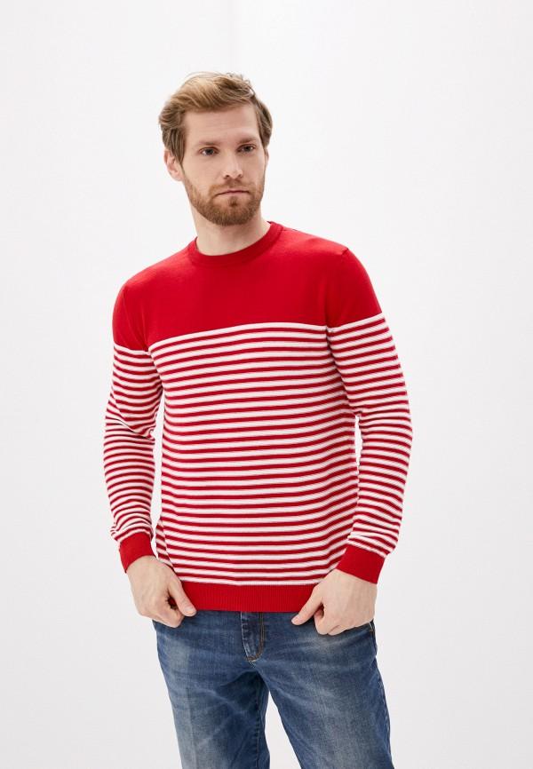 мужской джемпер united colors of benetton, красный