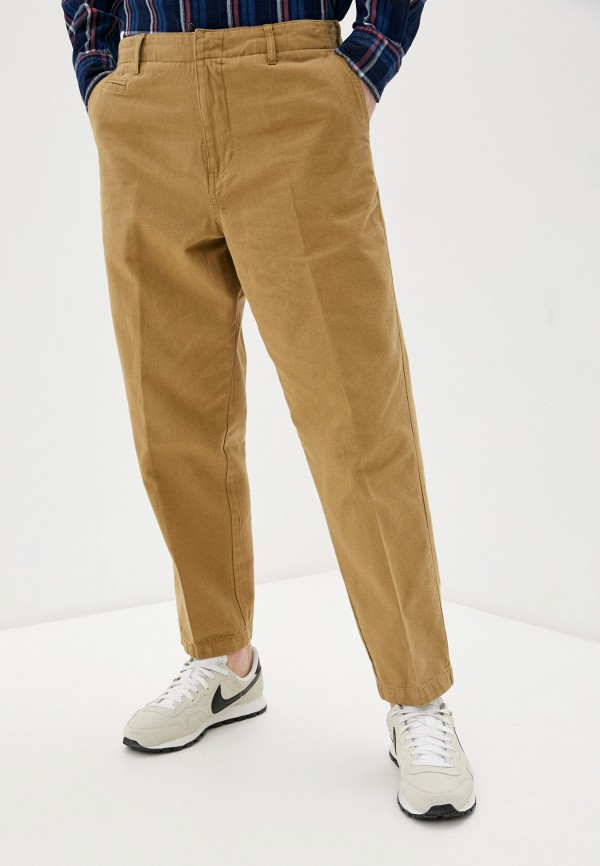 мужские повседневные брюки united colors of benetton, бежевые