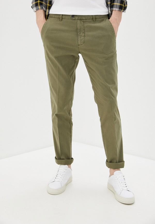 мужские повседневные брюки united colors of benetton, зеленые