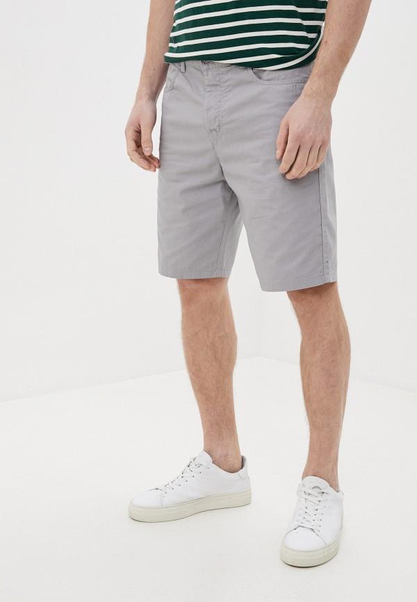 мужские повседневные шорты united colors of benetton, серые