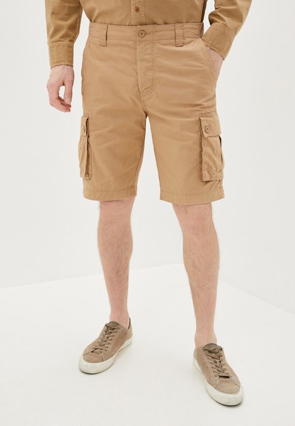 мужские повседневные шорты united colors of benetton, бежевые