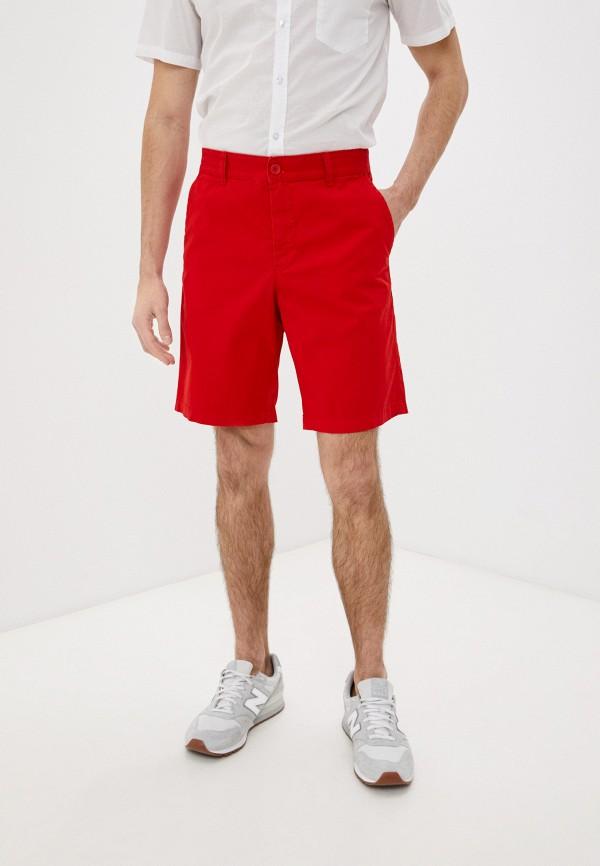 мужские повседневные шорты united colors of benetton, красные