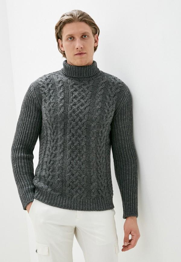 мужской свитер united colors of benetton, серый