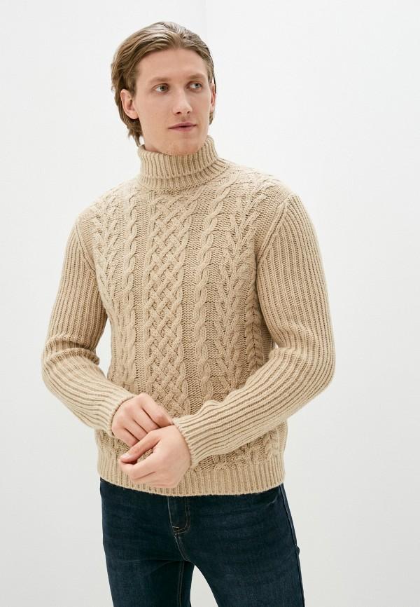 мужской свитер united colors of benetton, бежевый