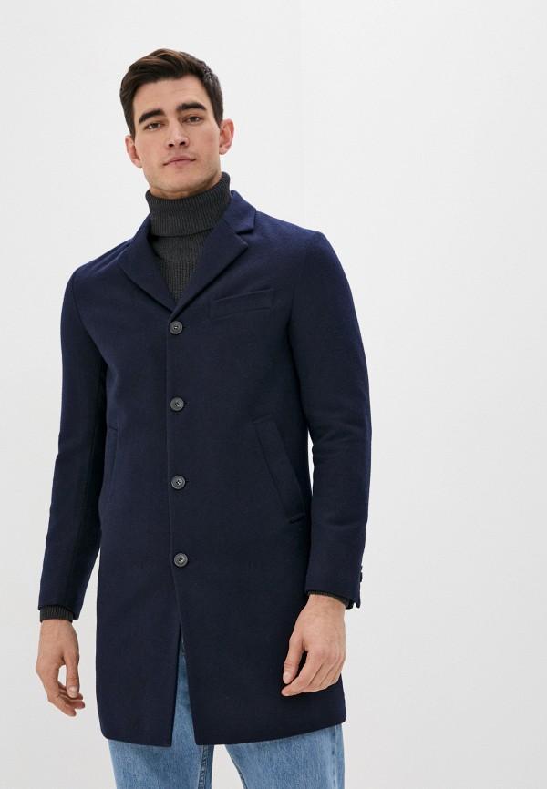 мужское пальто united colors of benetton, синее