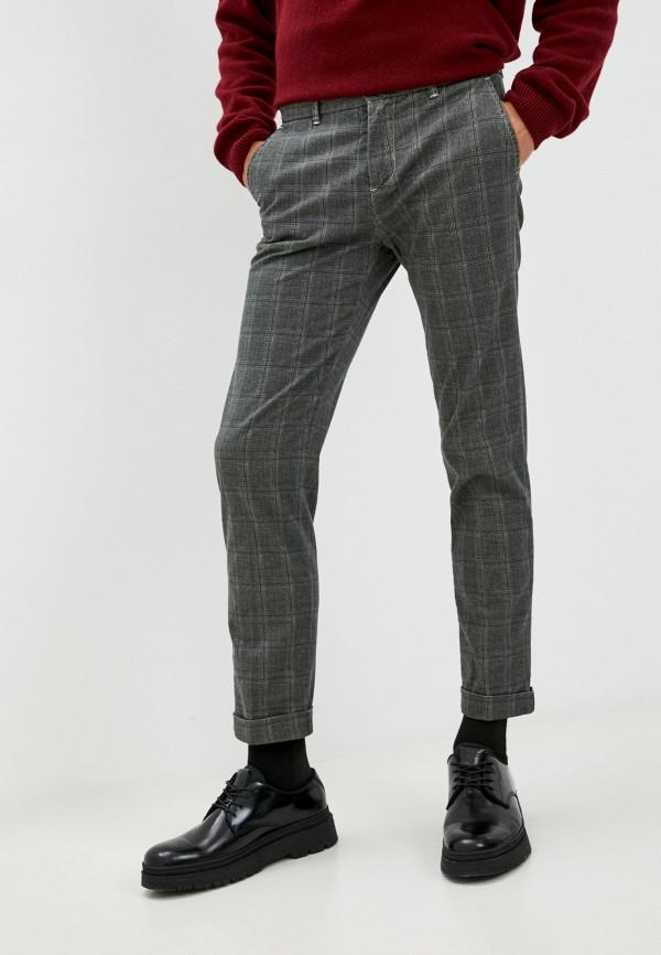 мужские повседневные брюки united colors of benetton, серые