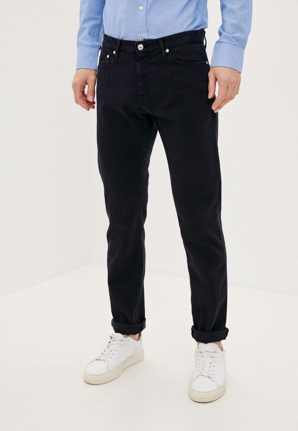 мужские зауженные джинсы united colors of benetton, синие