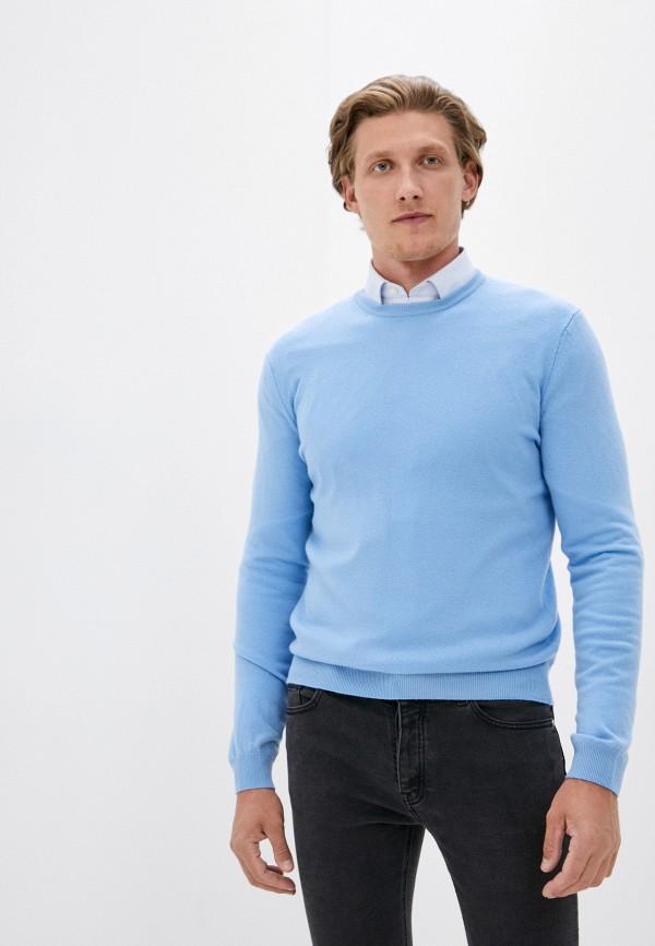 мужской джемпер united colors of benetton, голубой