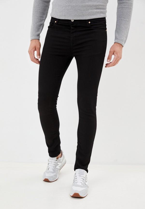 мужские прямые джинсы united colors of benetton, черные