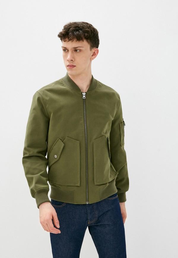 мужская куртка united colors of benetton, хаки