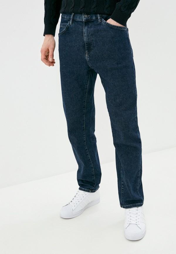 мужские прямые джинсы united colors of benetton, синие