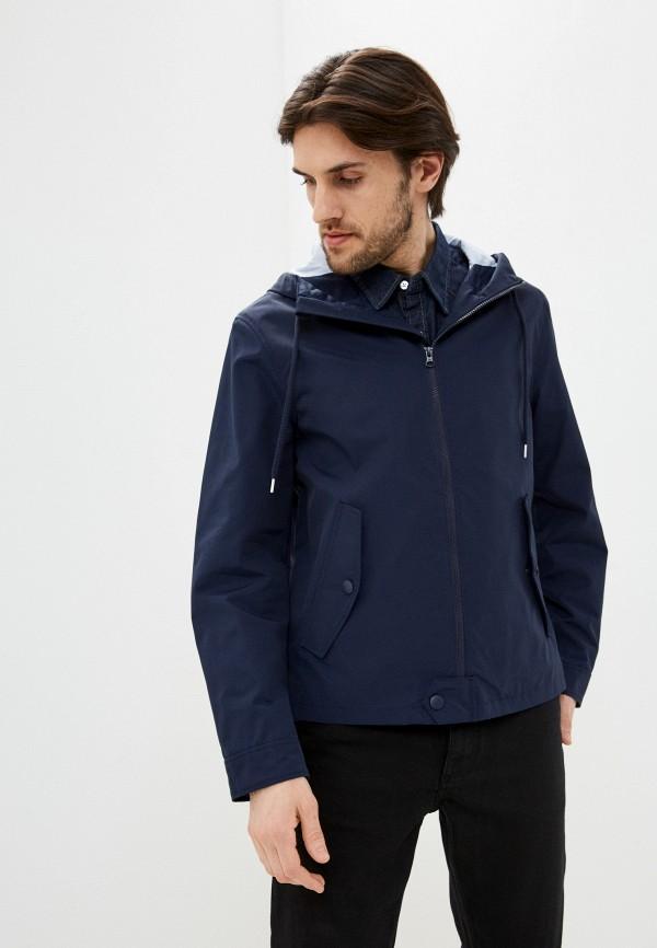 мужская куртка united colors of benetton, синяя