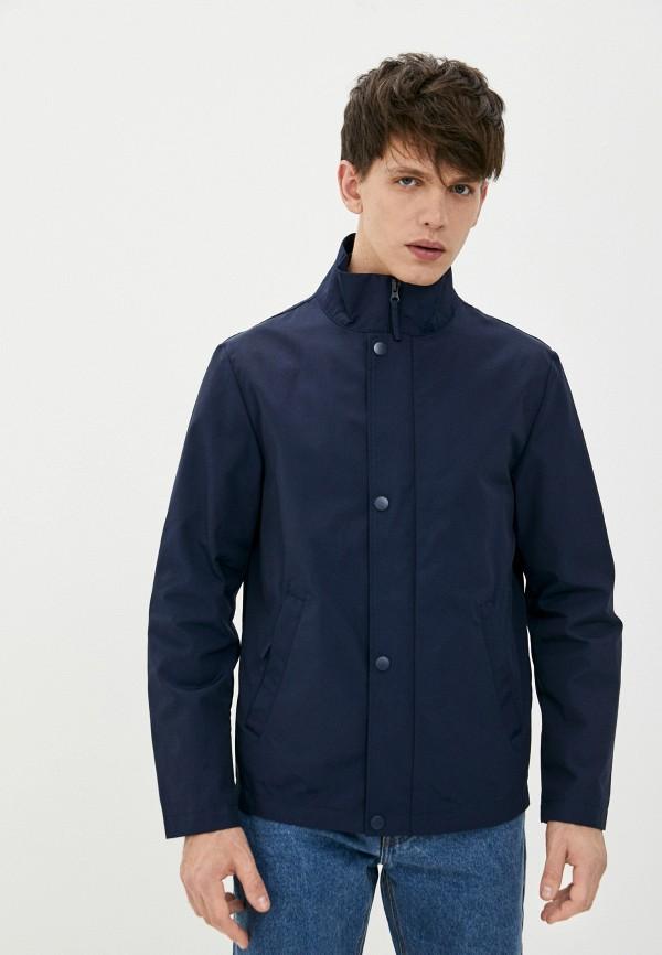 мужская легкие куртка united colors of benetton, синяя