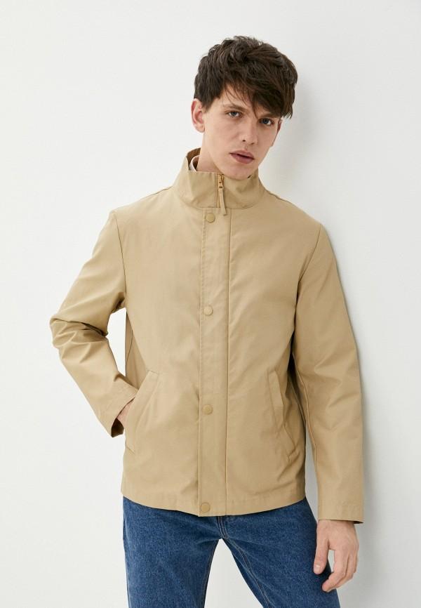 мужская легкие куртка united colors of benetton, бежевая
