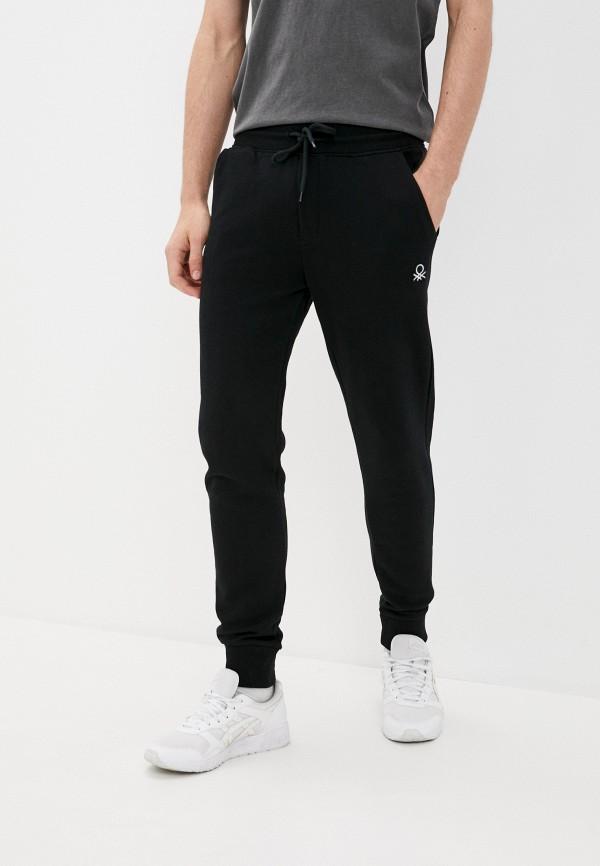 мужские спортивные брюки united colors of benetton, черные