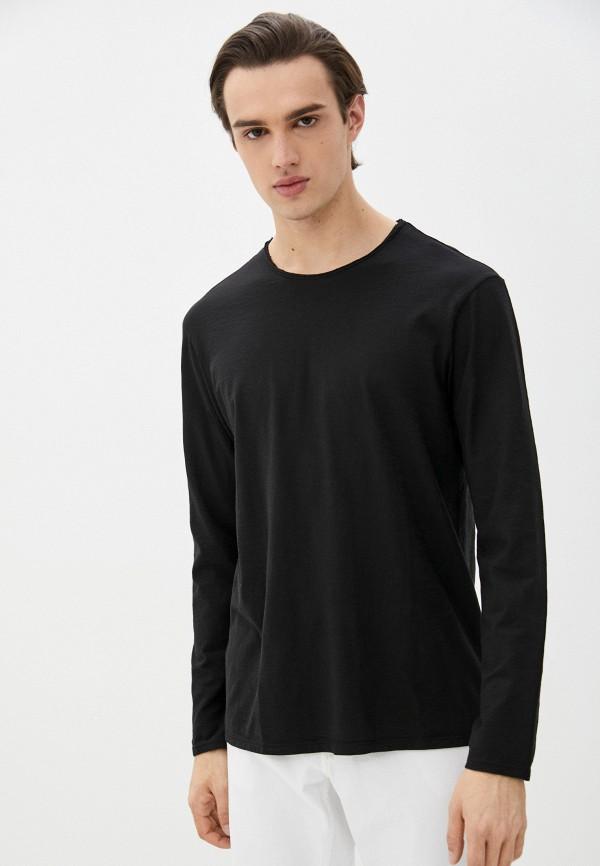 мужской лонгслив united colors of benetton, черный