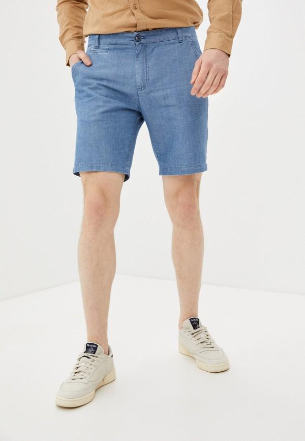 мужские повседневные шорты united colors of benetton, голубые