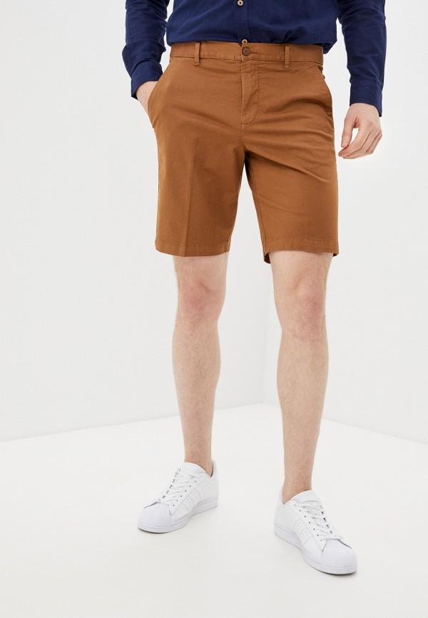 мужские повседневные шорты united colors of benetton, коричневые