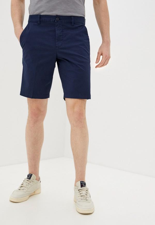 мужские повседневные шорты united colors of benetton, синие