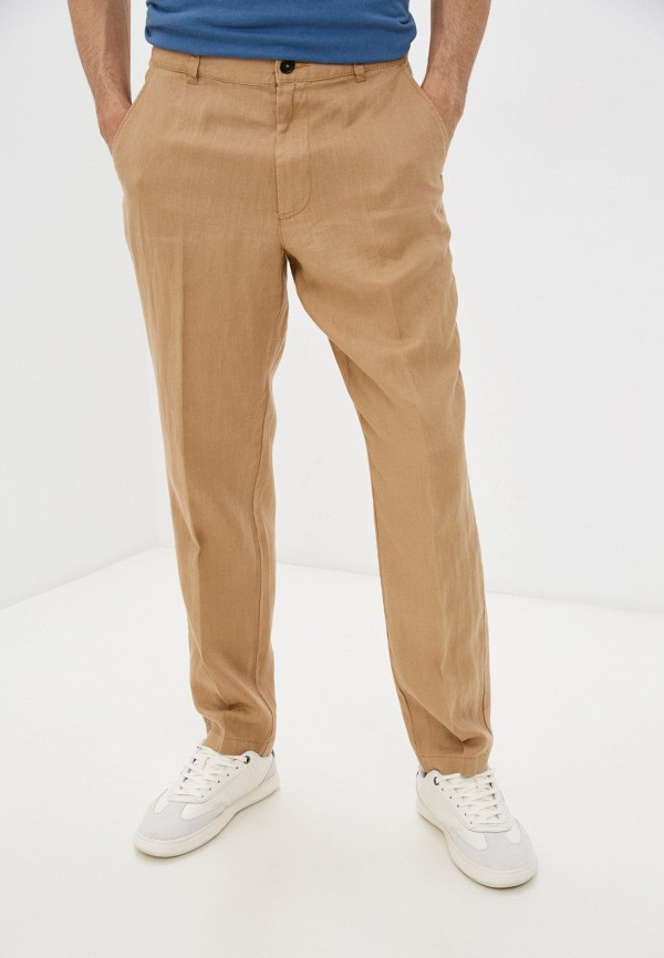 мужские брюки united colors of benetton, бежевые