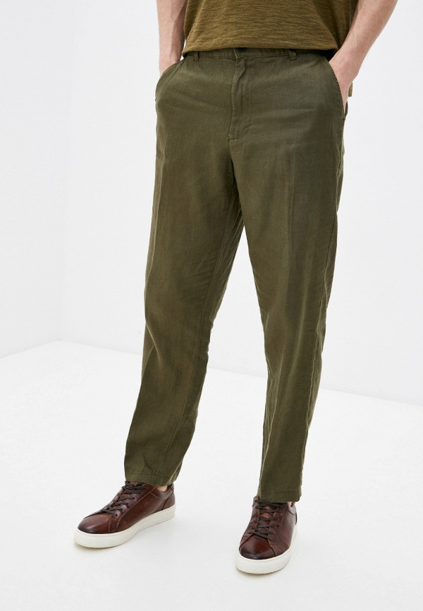 мужские брюки чинос united colors of benetton, хаки